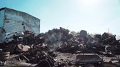 aterro : metal scrap yard for recycling purposes