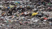 sloppy : Pollution, dumping of garbage Stock Footage
