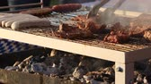 after fire : Barbecue grill