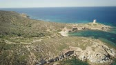 baía : drone view of a cove in Sardinia