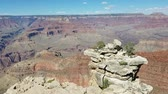 Grand Canyon National Park panorama from the South Rim, on the Arizona side, USA