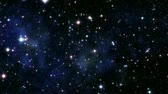 galaxy : universe animation Stock Footage