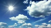 season : Sunny sky with clouds - Loopable time lapse footage