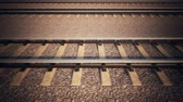 dimensional : Railroad track loopable animation. 3D animation.