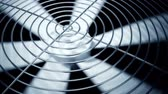 engenharia : Spinning fan closeup animation can represent air conditioning, ventilation.