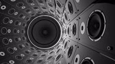 boates : Rotating wall of speakers. Loopable animation. Vídeos