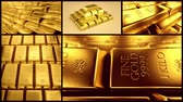 que vale a pena : Combination of different shots with gold bars.
