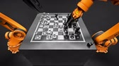 Two Assembling Robotic Arm Playing Chess