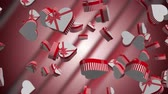 serce : Gift Boxes is a 3D animation. Use it for Christmas related videos, marketing commercials, valentines day. Wideo
