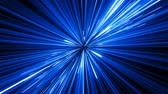 verme : Abstract Hyperspace Jump in Universe With Spinning. Beautiful Space Travel Through Stars Trails Blue Color. Digital Design Concept. Looped 3d Animation of Glowing Lines 4k Ultra HD 3840x2160.