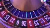 gamble : Roulette Wheel in a casino - 16 red wins