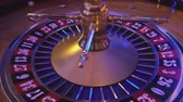 gamble : Roulette Wheel in a casino