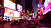 big apple : Times Square New York in the evening