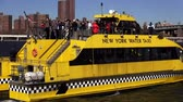 big apple : New York Water Taxi on Hudson River