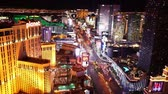 kasino : Wonderful night view of Las Vegas Boulevard - LAS VEGAS, NEVADA  USA April 20, 2015
