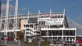 voyage affaire : Great American Ball Park Arena Cincinnati Ohio - CINCINNATI, OHIO USA Vidéos Libres De Droits