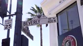 veneza : Beverly Drive street sign LOS ANGELES