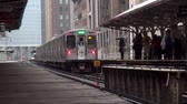 estados unidos : Chicago metro The Loop - CHICAGO, ILLINOIS  USA Stock Footage