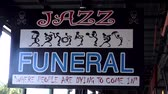 voyage affaire : Jazz Funeral Sign NEW ORLEANS, LOUISIANE USA