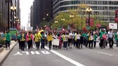 поездка : Demonstration protest march - CHICAGO, ILLINOIS  USA