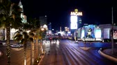 kasino : Amazing Las Vegas Boulevard at night timelapse shot