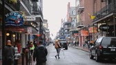 kult : A rainy day in New Orleans Bourbon Street French Quarter