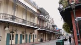 culto : Typical New Orleans mansions with iron balcony