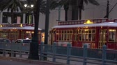 kult : New Orleans trolley bus at Canal street