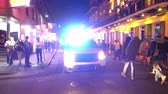francês : NOPD New Orleans Police at night