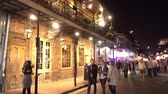 culto : Party at Bourbon Street French Quarter New Orleans at night