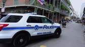 culto : New Orleans Police Car in French Quarter