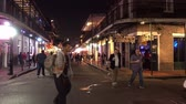 culto : Clubs and bars at Bourbon Street French Quarter New Orleans Vídeos