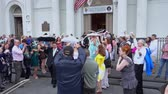 francês : Typical wedding ceremony in New Orleans
