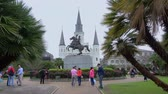 culto : Jackson Square New Orleans with St. Louis Cathedral