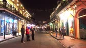 kult : Party at Bourbon Street French Quarter New Orleans at night