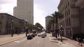 culto : Street view and traffic on Canal street New Orleans