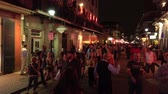 kult : Having party in the streets of Bourbon Street French Quarter New Orleans
