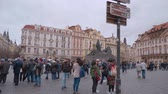Československo : The city center of Prague - the Old Town Square Dostupné videozáznamy