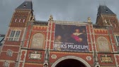 holandia : The Dutch National Museum in Amsterdam - AMSTERDAM - THE NETHERLANDS - JULY 19, 2017