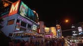 planety : The Las Vegas Boulevard by night at Planet Hollywood Hotel - USA 2017