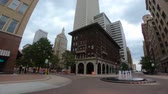 vozovka : Walk through Tulsa downtown district - empty streets with no traffic - USA 2017