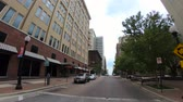 united states : Walk through Tulsa downtown district - empty streets with no traffic - USA 2017