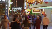 ace : Las Vegas Strip - a popular and busy place at night - USA 2017