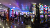 casino chips : Slot machines at McCarran International Airport Las Vegas - USA 2017