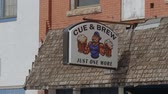 oklahoma city : Cue and brew beer bar in the city of Stroud in Oklahoma - USA 2017