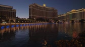 ace : Wonderful lake in front of the Bellagio Hotel in Las Vegas - night view - USA 2017