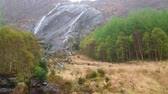 kerry : Gleninchaquin waterfall at Beara Peninsula