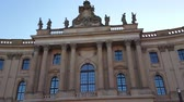 street photography : Famous Humboldt University in Berlin - Faculty of Law