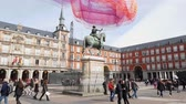 tőke : Most famous Square in Madrid called Plaza Major
