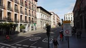 цари : The streets in the historic district of Madrid